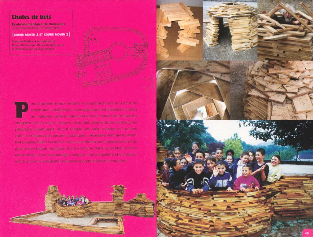 À l'École des cabanes, J.M. Place, 2005, pp 44-45