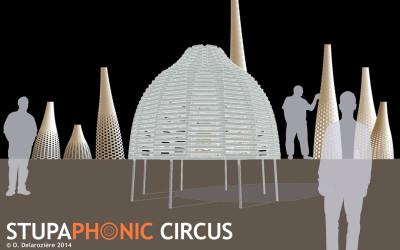 """2015-24/09-27/09 – """"Stupaphonic Circus"""" présenté au Festival Curiositas"""