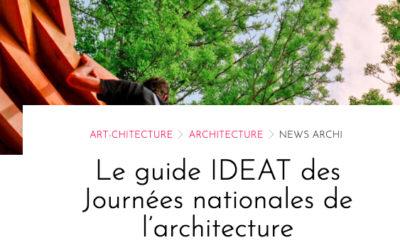 2020-16/10 – Le guide IDEAT des Journées nationales de l'architecture