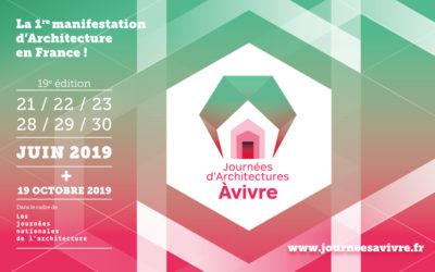 2019-22/06-23/06 – À vivre : journées d'Architectures